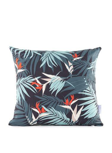 Firuze Home&Bath 2'li Kırlent Palm Renkli